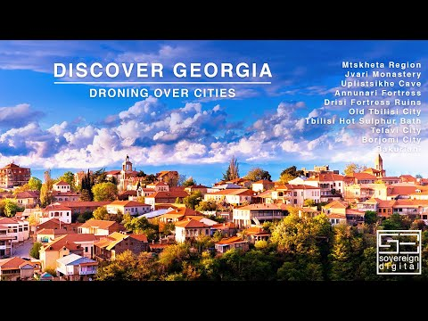Tbilisi Georgia Travel Guide 2019 Episode - II | 10 Best Places to Visit in Georgia Drone Views