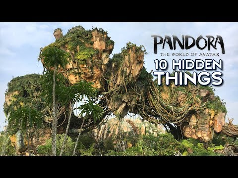 10 Hidden Details in Pandora – The World of Avatar at Disney's Animal Kingdom - HiPS Ep. 4