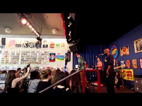 Ugly Faces LIVE - George Watsky - Amoeba Records in San Francisco