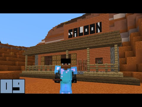 Minecraft Survival - Saloon Furnishings [E009]