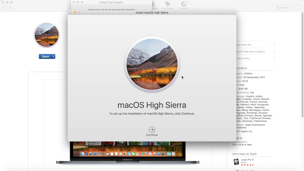SIMPLE - macOS High Sierra - Bootable USB