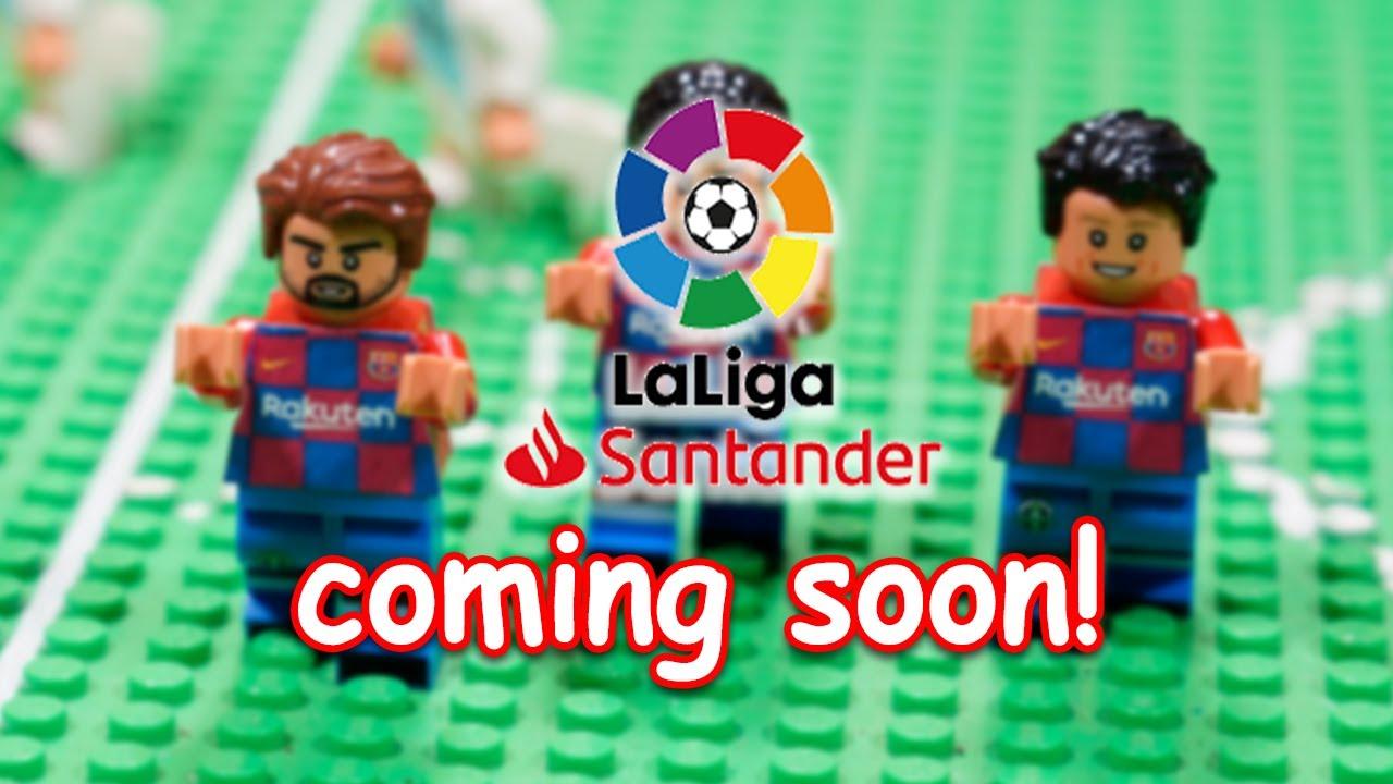 coming soon la liga santander 2019 20 lego football. Black Bedroom Furniture Sets. Home Design Ideas