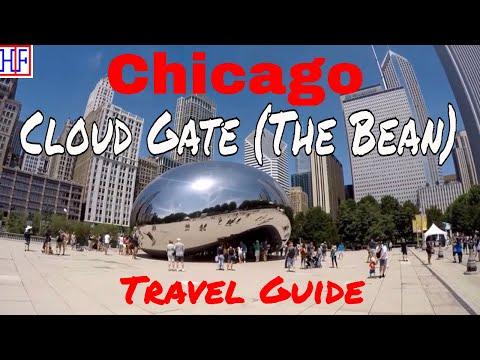 Chicago | Cloud Gate at Millennium Park (The Bean) | Tourist Attractions | Episode# 8