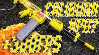 HPA CALIBURN ? || +300FPS Custom Nerf Caliburn