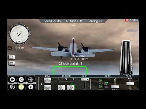 Stall maneuver | Beach craft | flywings 2017 flight simulator | missions