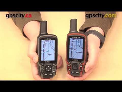 Garmin GPSMAP 64 vs. 62 Comparison Video with GPS City