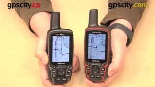 Garmin GPSMAP 64 vs. 62 Comparison Video with GPS City