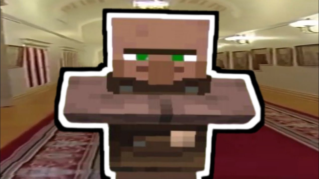 Wide Putin Meme but it's Minecraft Villager Sound (Song for Denise)