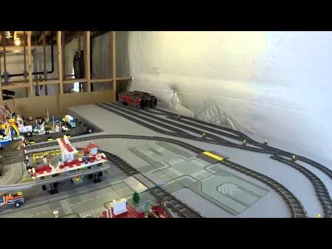 LEGO City Cleaning Part 2: Train Yard