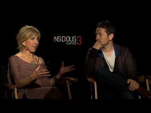 Interview with Leigh Whannell & Lin Shaye for Insidious Chapter 3