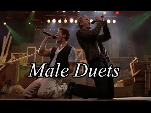 TOP 40 Glee - Male Duets