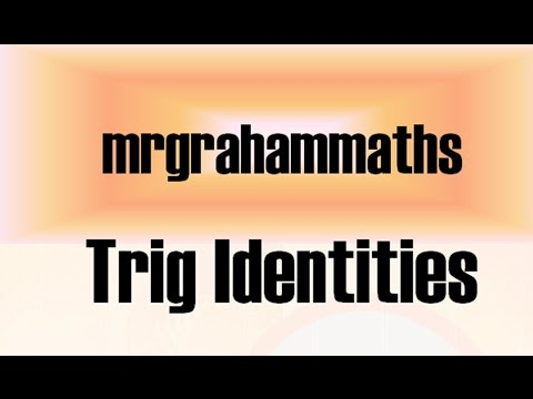 Access youtube national 5 maths trig identities ccuart Gallery