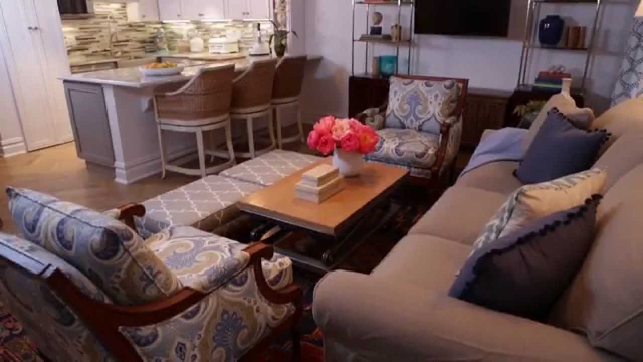 Furniture Arranging for Small Living Rooms - YouTube