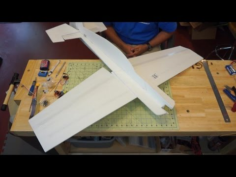 Edge 540 Profile Foam Plane Build