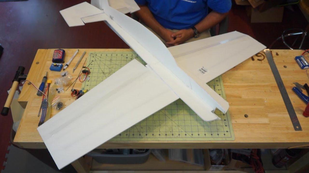 Edge 540 Profile Foam Plane Build - YouTube