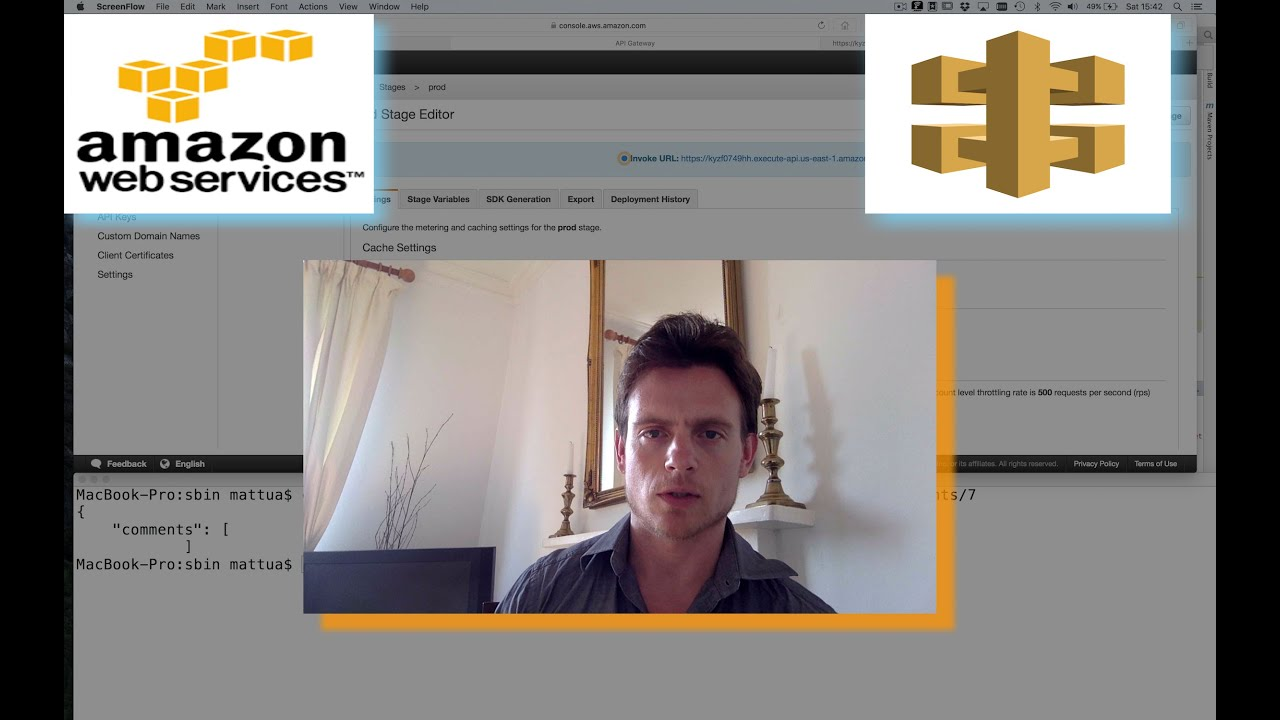 ep 2: How to secure your AWS Gateway API with API key (tutorial with  screencast and test)