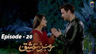Ramz-e-Ishq - EP 20  || English Subtitles || 18th Nov 2019 - HAR PAL GEO