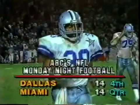 [Highlights] Week 16 1984- Miami and Dan Marino knock Dallas out of the playoffs for the first time since 1974 in a wild game with a crazy 4th quarter. JaguarGator9 mentioned this game in regards to the 1984 Giants somehow losing their way into the playoffs