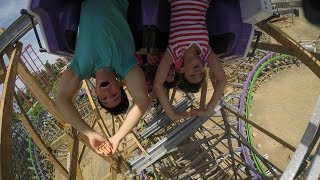 the joker music video pov hd six flags discovery kingdom rmc roller coaster hybrid new for 2016