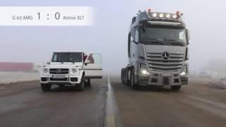 DAS DUELL Mercedes G 63 AMG gegen SLT 4163