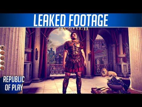 LEAKED FOOTAGE - Total War: ROME II Pre-Release Footage