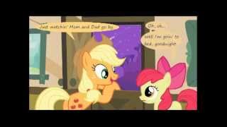 MLP Comic Dub - Apple-Bolts (comedy)
