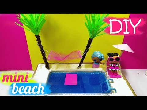 How To Make a Miniature Beach