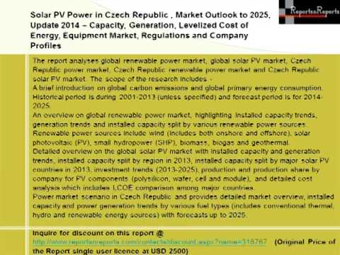 Czech Republic Solar PV Power Market (Energy & Power) Outlook to 2025