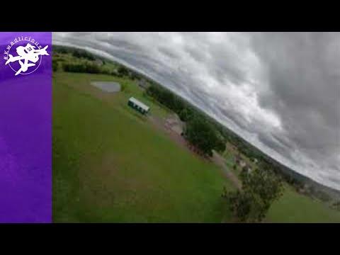 Фото 360 FPV Video - Raw Maiden Flight - Very Heavy 6s Racer Burdened with a Huge Camera