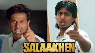 Salaakhen (1998)   Sunny deol   Salaakhen movie spoof   Sunny deol dialogue   Sunny deol best scene