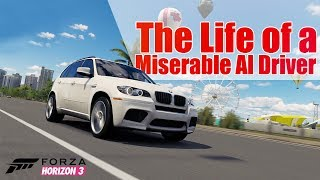 Day in the life of an AI Driver - Forza Horizon 3 Skit