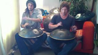 Sams Dance with 6 handpans (Hang Drums)