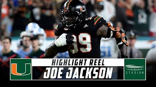 Joe Jackson Miami Football Highlights - 2018 Season | Stadium