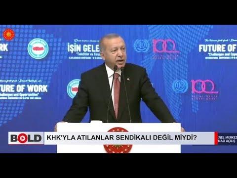 Erdoğan, 130 bin memurun KHK'yla ihraç edilmesinin zulüm olduğunu itiraf etti