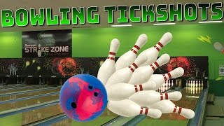 Awesome Bowling Trick Shots | BROWNYBOY
