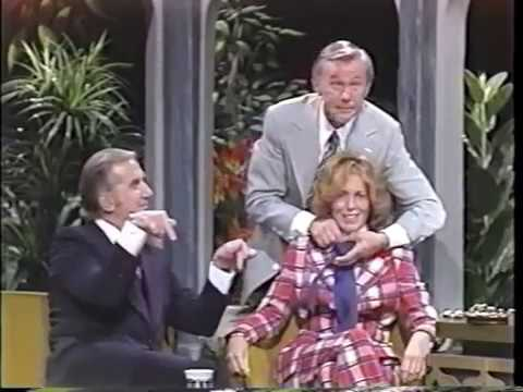Joanna Cassidy's first appearance on The Tonight Show/Johnny Carson