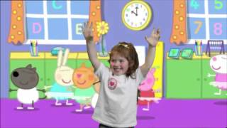 Jasmine singing Twinkle Twinkle little star with peppa pig