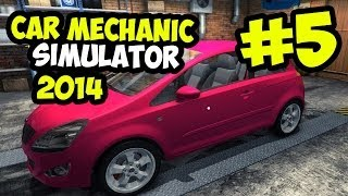 Car Mechanic Simulator 2014 Gameplay Part 5 - I'M LEARNING SO MUCH