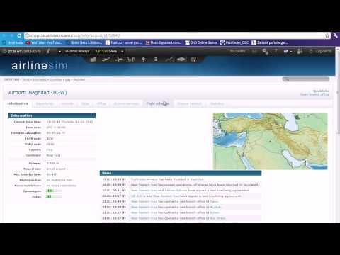 Airlinesim Tutorials 1 - Choosing a location for your airline