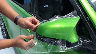 How to Install Clear Bra on a BMW M3/M4 Mirror