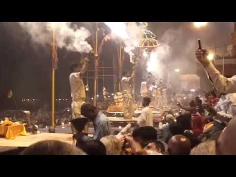 Maha khumbmela - Ganga harati at Varanasi