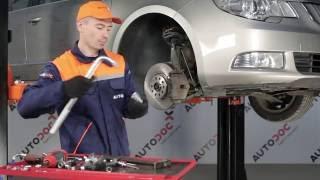 Sådan udskifter du reparationssæt til suspensionsstiver på SKODA SUPERB 2 [Guide]