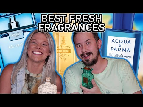 10 BEST FRESH SUMMER FRAGRANCES SMELLED & RATED - BEST MEN'S SUMMER FRAGRANCES