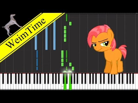 Babs Seed (Piano Cover) -- Synthesia HD