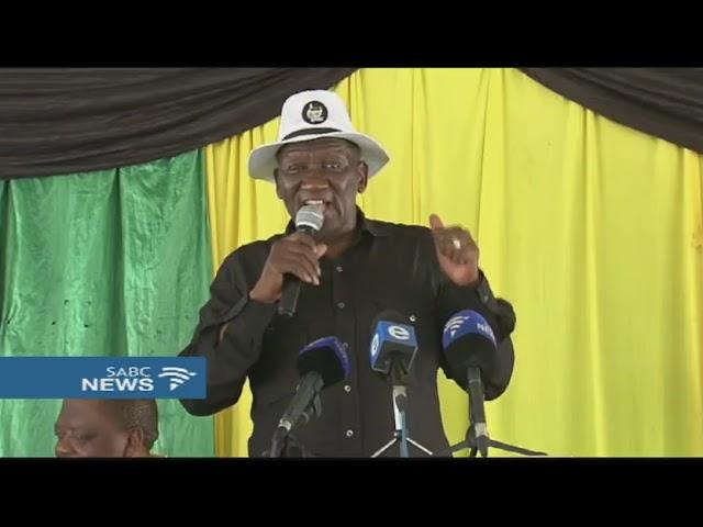 Bheki Cele snubs ANC SG Ace Magashule #1