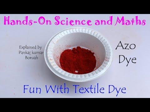 Fun with Textile Dye   English