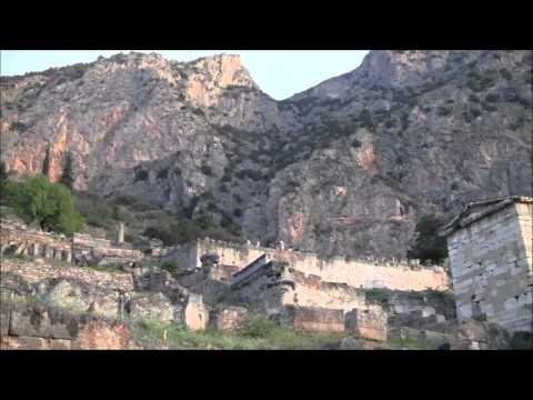 Delphi, Greece (Pan-Hellenic Sanctuary on Valley of Phocis)