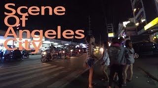 Angeles City, Walking Street Outside Just Walking(Philippine 2017)