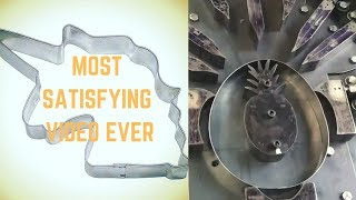 The Most Satisfying Video Ever (100% SATISFACTION) | MAKING OF COOKIE CUTTERS | A30