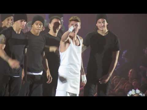 Justin Bieber - One Time/Eenie Meanie/Somebody To Love (Perth concert)